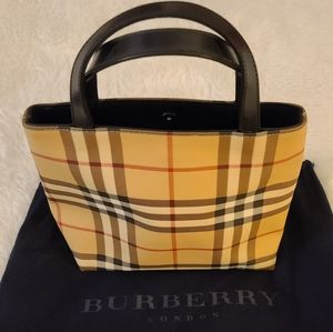 Burberry London Small Vintage Tote